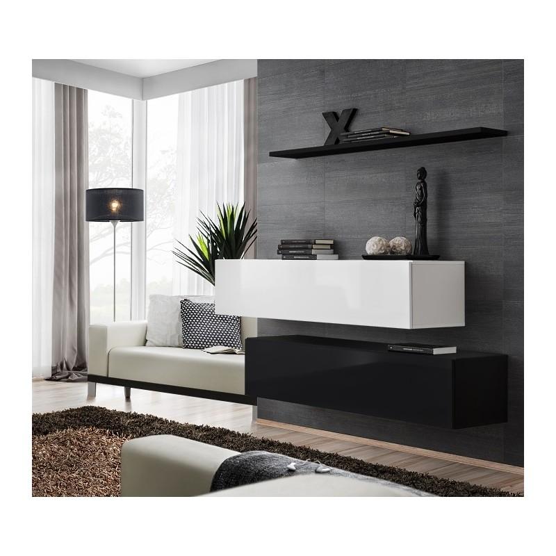 switch i modular 120cm hanging tv wall unit furniture sets sena home furniture