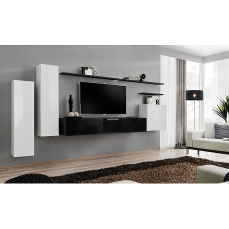 Switch II   Modular Hanging TV Wall Unit