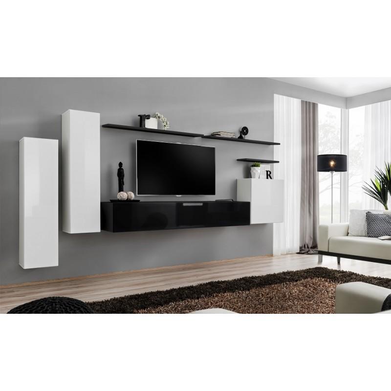Switch Ii 180cm Modular Hanging Tv Wall Unit Furniture