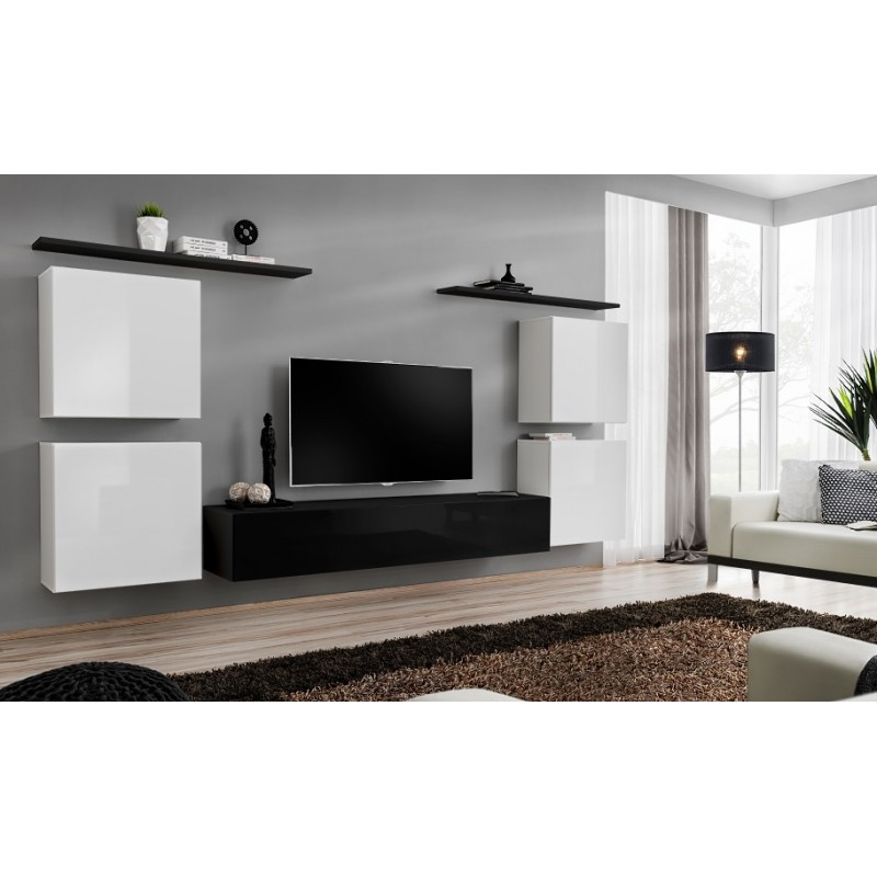 modern house bedroom switch ii 180cm modular hanging tv wall unit furniture 12587