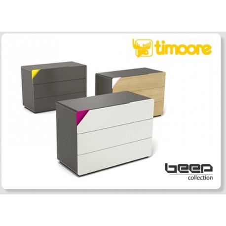 Beep - three drawer chest
