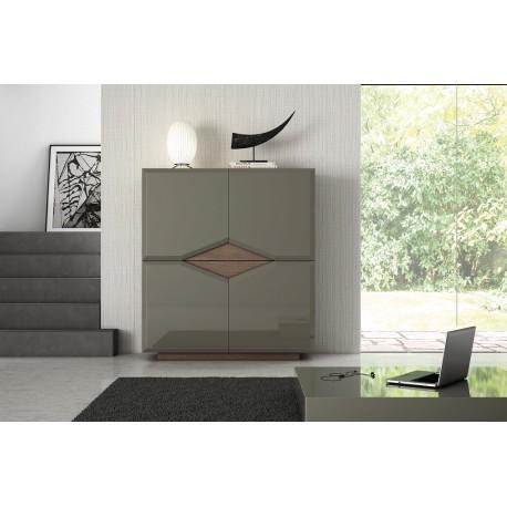 Diam - luxury bespoke highboard with optional lighting