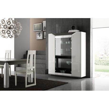 Diam II - luxury bespoke display cabinet with optional lighting