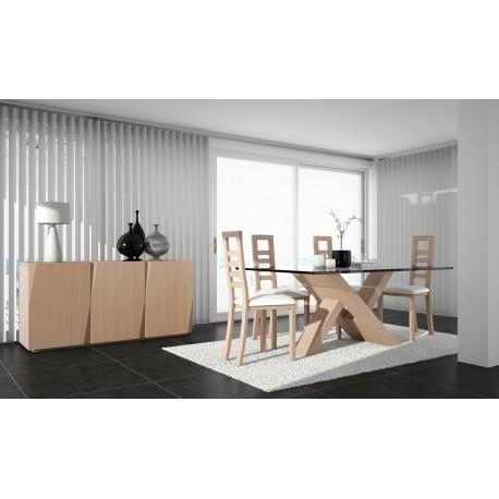 Jade - luxury bespoke sideboard with 4 doors