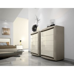 Nina II luxury tall chest of drawers