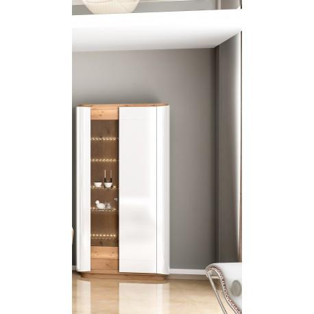 Evora - luxury bespoke display cabinet with optional lighting