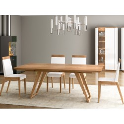 Evora - bespoke solid wood dining table