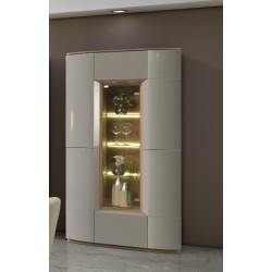 Rona - luxury bespoke display cabinet with optional lighting