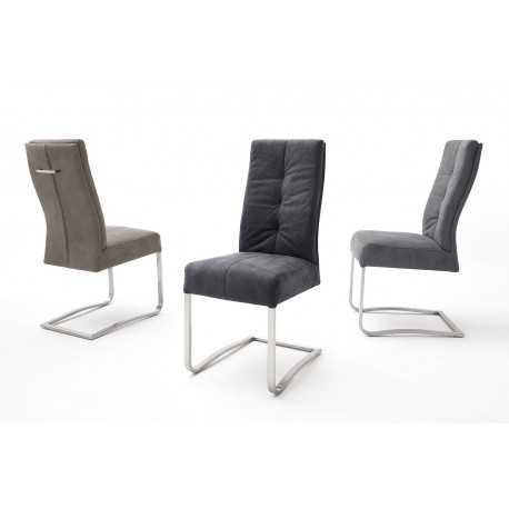 Salvo - modern dining chair with spring