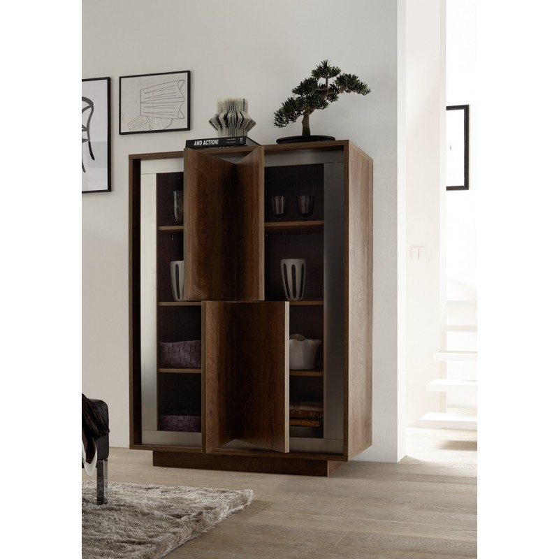 cabinet installation modern storage cabinet in oak cognac finish with 12921