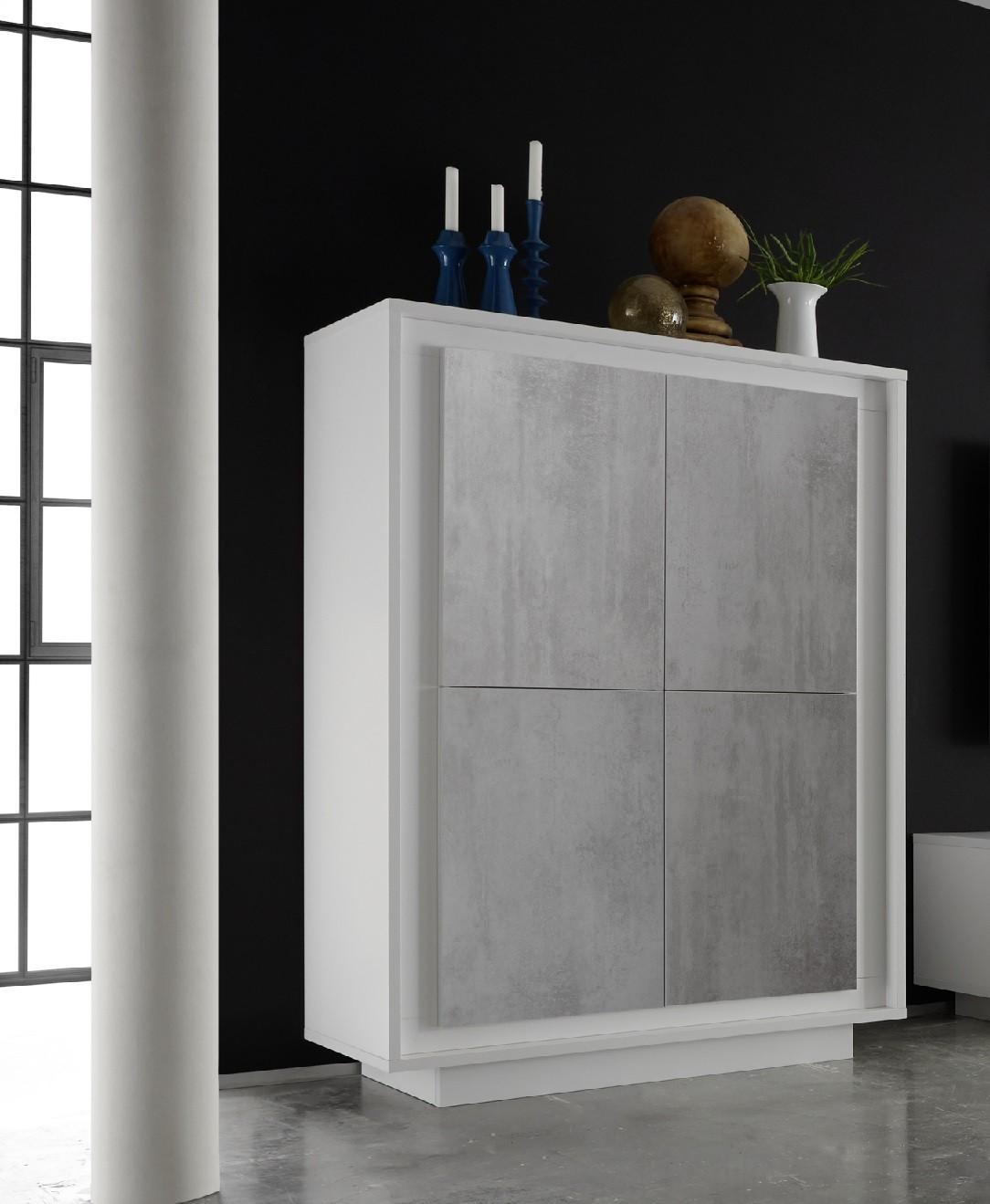 amber iv 4 door modern storage cabinet with stone imitation fronts black doors28 doors