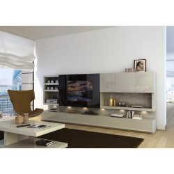 Strong composition CP20 - bespoke luxury wall unit
