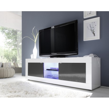 on sale 797f7 89784 Dolcevita II white and grey gloss TV Stand
