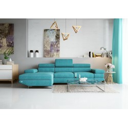 Avanti II - L shape modular sofa-bed with otoman