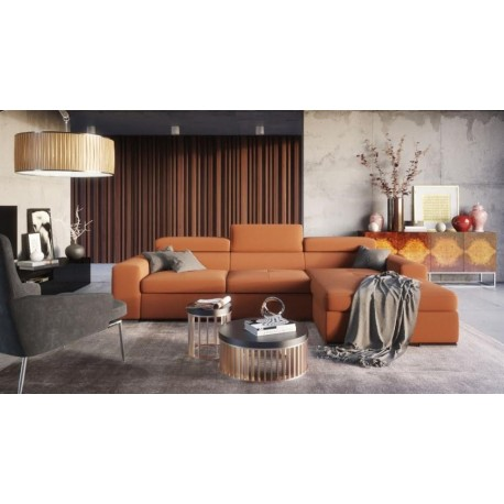 Imola - L shape modular sofa with otoman
