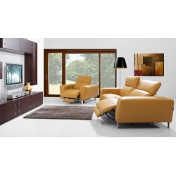 Livio Divano- exclusive sofa with electric recliners seats