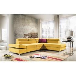 Silento - L shape modular sofa-bed