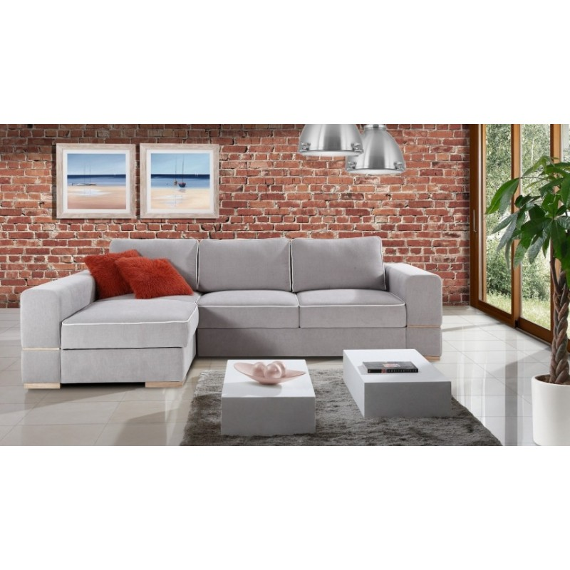 Castello l shaped modular sofa with sleeping option for L shaped modular homes