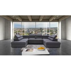 Enzo modulio - U shape luxury modular sofa