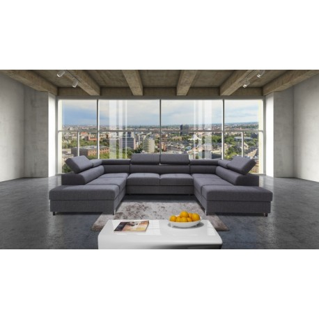 Enzo modulio - U shape luxury modular sofa