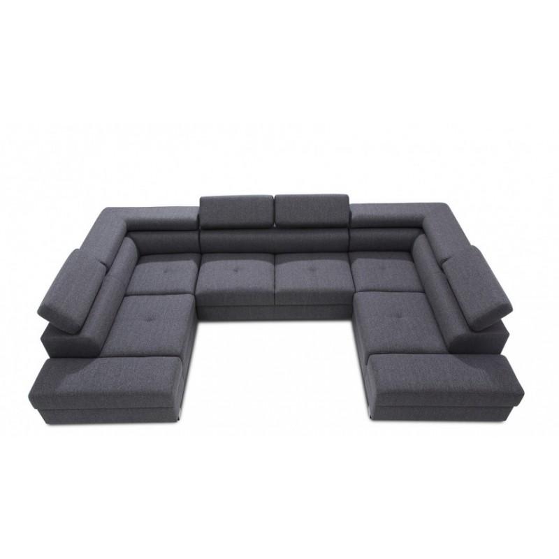 Enzo U Shaped Modular Sofa Sofas 2588 Sena Home