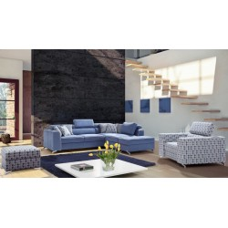 Largo - L shape modular sofa-bed
