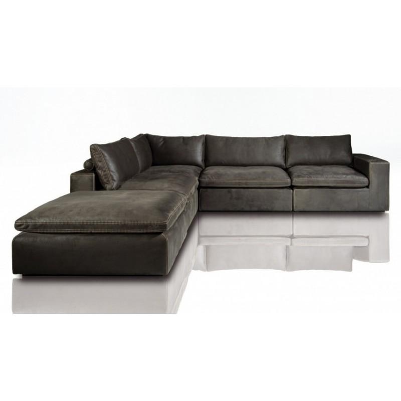 2591 lionel l shape modular sofa with otoman
