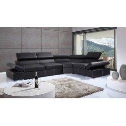 Lorenzo modulio - L shape modular sofa with bed option