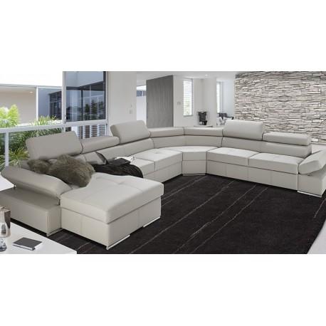 Lorenzo modulio - U shape modular sofa with bed option