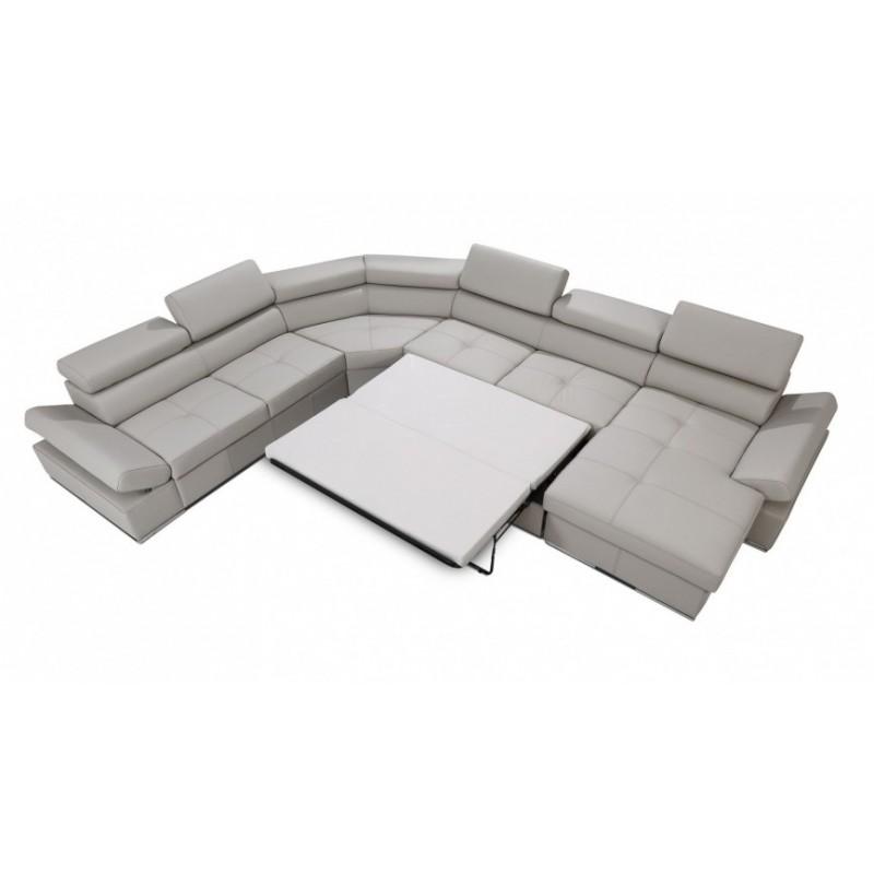 Lorenzo Modulio U Shaped Modular Sofa With Sleeping Option