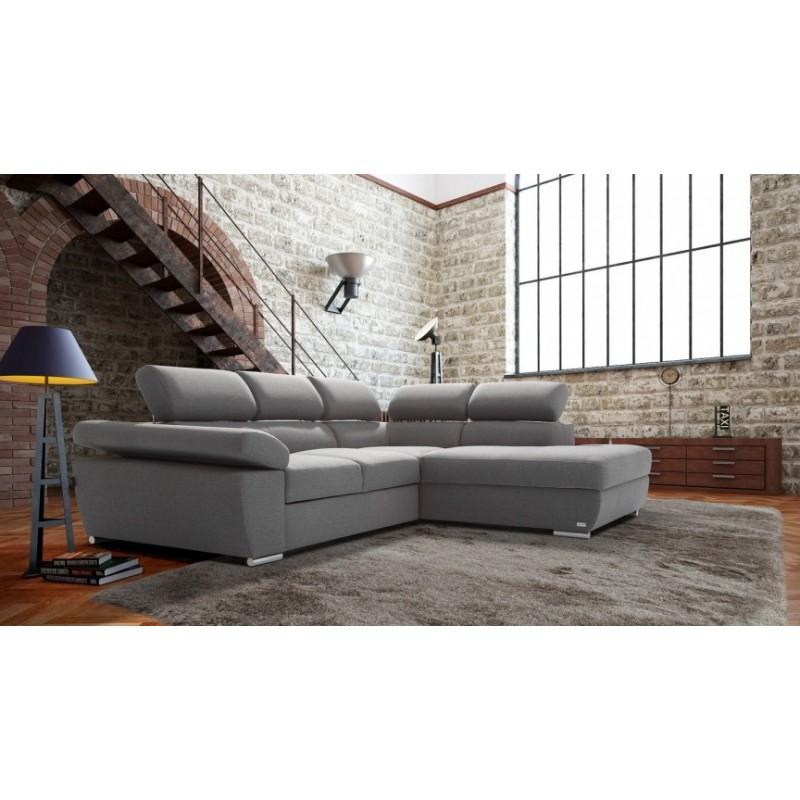 Ricardo l shaped modular corner sofa with sleeping option for L shaped modular homes