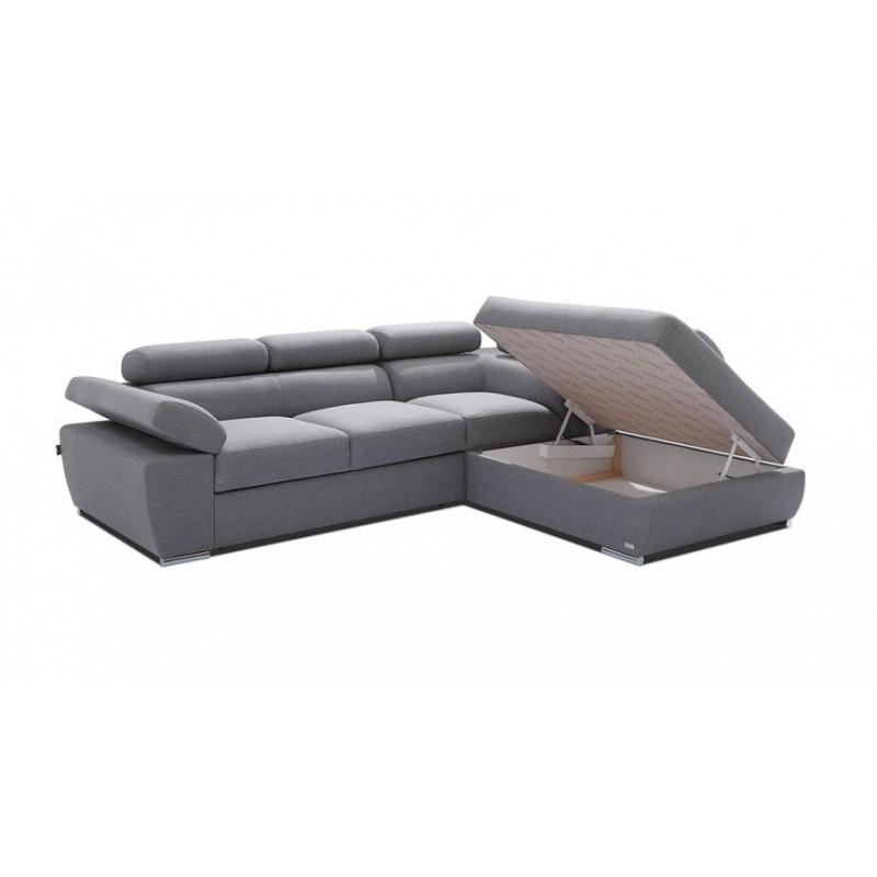 Ricardo L Shaped Modular Corner Sofa With Sleeping Option