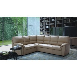 York - L shape modular sofa with recliner option