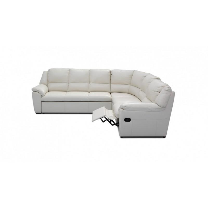 York L Shaped Modular Sofa With Recliner Option Sofas
