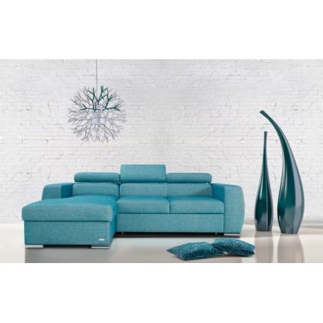 Vento II - L shape modular sofa with otoman