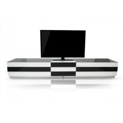 Lago 526- bespoke TV Unit series in various colours and sizes with 3D lacquered fronts