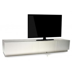Lago aluminium - bespoke TV Unit series in various sizes with aluminium fronts