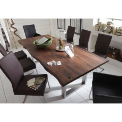 Ikon II - solid wood dining table in various sizes and wood finishes