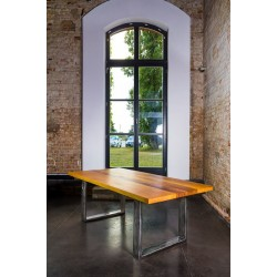 Trebord classic bespoke solid wood dining table in various sizes and wood finishes