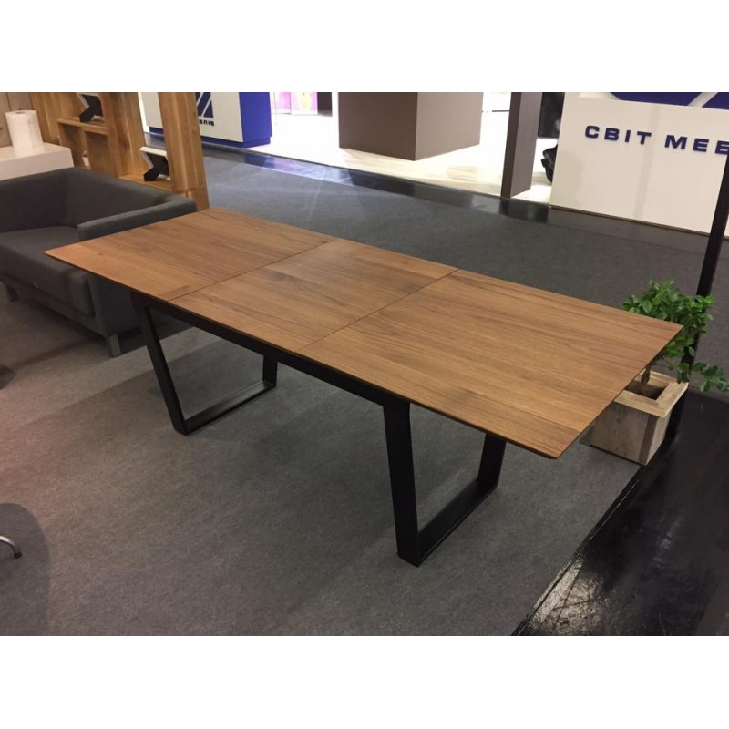 Trebord Extendable Solid Wood Dining Table In Various Sizes And Wood Finish