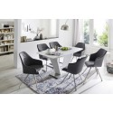 Marica A - dining chair with various base options