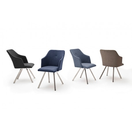 Marica B - dining chair with various base options
