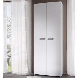 Ambrosia 2 doors  lacquered gloss wardrobe