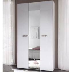 Ambrosia 3 Door lacquered gloss wardrobe