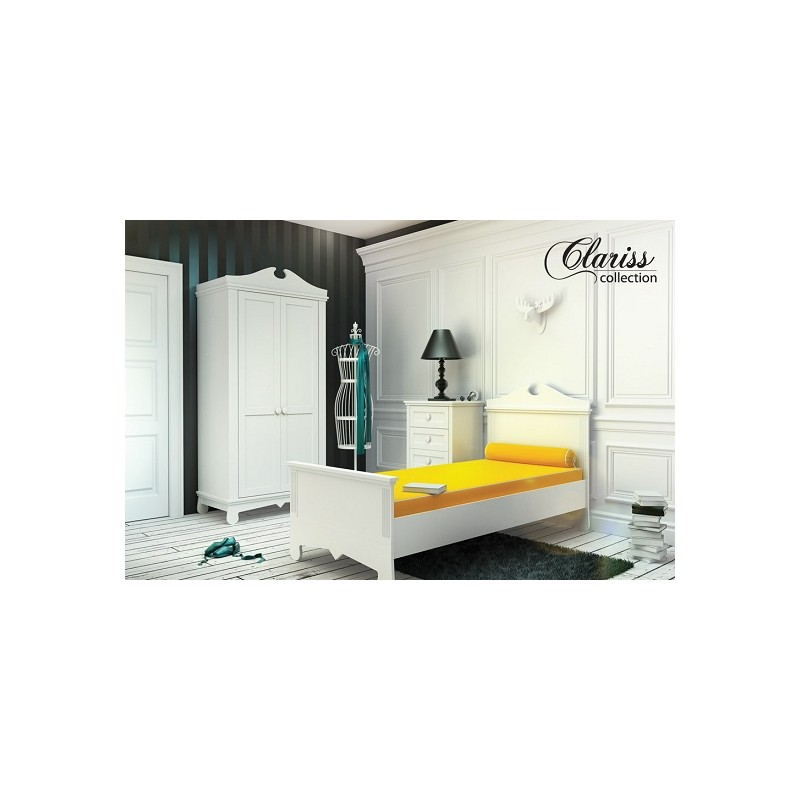 Clariss bedroom starter set furniture by room 303 for Starter bed