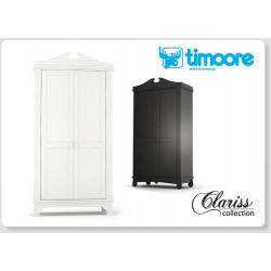 Clariss - 2 door wardrobe