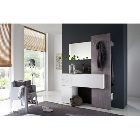 zuma iii modern hallway set 2683 sena home furniture. Black Bedroom Furniture Sets. Home Design Ideas