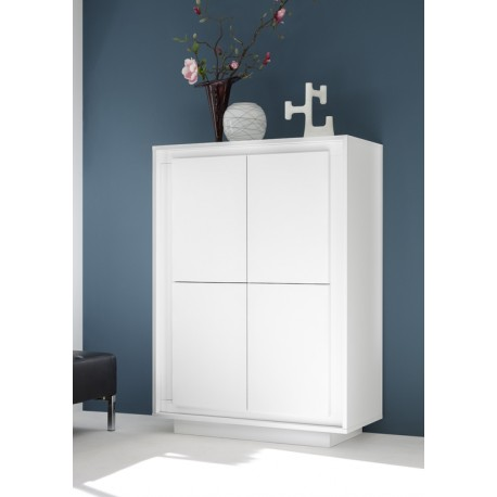 Amber VI modern lacquered storage cabinet