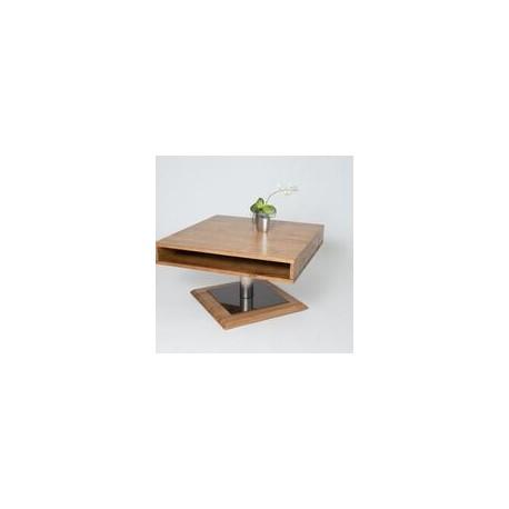 Pia III - solid oak coffee table
