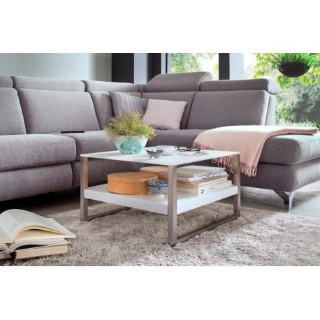 Bill - white matt coffee table